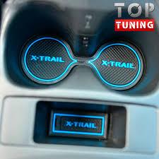 Резиновые <b>вставки</b> в салон TECH Design на Nissan X-Trail T32