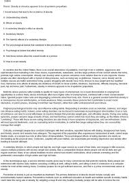 cause of obesity essay causes of obesity free essays       studymode at not they were in a