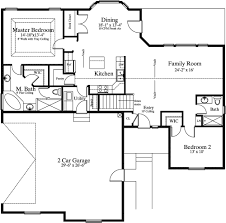 NeedaHousePlan comsecluded master suite house plan
