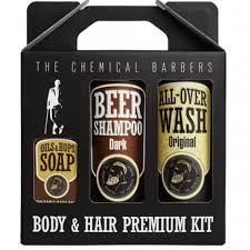 Купить <b>Набор The Chemical Barbers</b> Beer Shampoo Gift Set ...