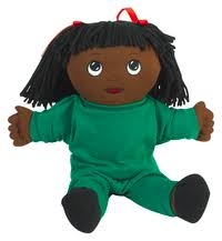 <b>Children's</b> Factory Sweat <b>Suit</b> Doll, <b>African</b> American Girl