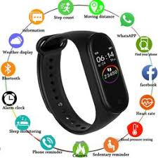 M4 Smart Bracelet Fitness Activity Tracker Heart Rate Monitor ... - Vova