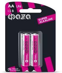 <b>Батарейка ФАZA</b> Super Alkaline, 495340, розовый, AA, 2 шт