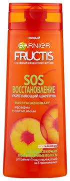 <b>GARNIER Укрепляющий шампунь Fructis</b> SOS Восстановление ...