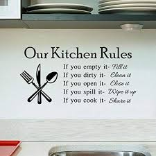 Hatop Wall Stickers, Newest Hot Removable Kitchen ... - Amazon.com
