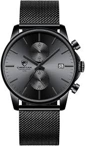 Men's Watch Fashion Sport Quartz Analog Mesh ... - Amazon.com