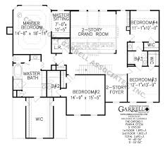 Oxford F House Plan   Colonial House Plans    oxford f house plan   nd floor plan