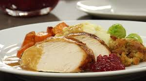 Image result for turkey dinner plate