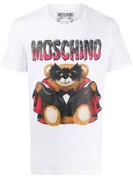Moschino <b>Футболка</b> С Принтом <b>Bat</b> Teddy Bear -25%- Купить В ...