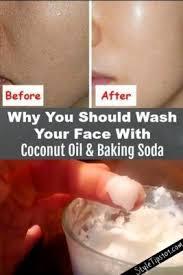 <b>Baking</b> Soda & Coconut <b>Oil Face</b> Mask | Рецепт | Кокосовое <b>масло</b> ...
