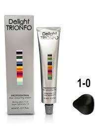 <b>Крем</b>-<b>краска</b> 1-0 <b>DELIGHT</b> TRIONFO для окрашивания волос ...