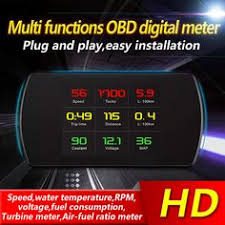 Zeepin <b>X6</b> 3 Inch <b>Car</b> HUD Head Up Display OBD2 II EUOBD ...