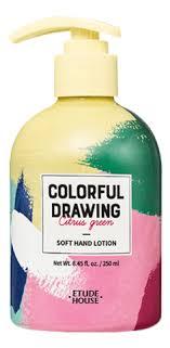 Купить <b>лосьон для рук Colorful</b> Drawing Soft Hand Lotion 250мл ...