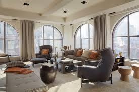 photo modern loft living room interior loft furniture furniture designs furniture retro ottoman stool contemp