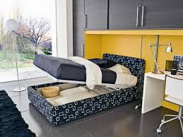 furniture ideas for small bedroom design inspiring hidden storage under comforts bed of small modern bedroom idea furniture small