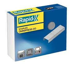 <b>Скобы Rapid</b> Omnipress 60 - <b>Скобы</b> и Антистеплеры | <b>RAPID</b>