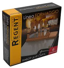 <b>Набор</b> для <b>сыра Regent</b> Inox 6 предметов, Linea <b>Formaggio</b>, цена ...