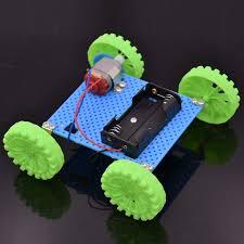 <b>130</b> Brush Motor <b>Mini Wind Car</b> Educational DIY <b>Car</b> Kit <b>130</b> Brush ...