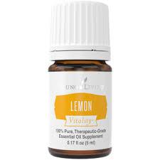 <b>Lemon</b> Vitality <b>Essential Oil</b> - <b>5mL</b> - The Autumn Acorn