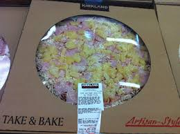 this week at costco addicted to costco hawaiian take bake pizza