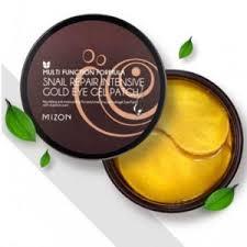 Гидрогелевые <b>патчи</b> для глаз <b>Mizon Snail Repair</b> Intensive Gold ...