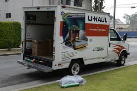 Uhaul Truck S Moving My Apartment Into Storage Using A Uhaul And Hireahelper