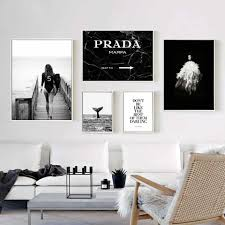Home Decor Nordic Canvas <b>Paris Tower</b> Girl <b>Rose</b> Painting Swan ...