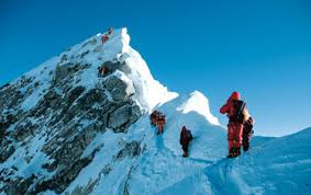 Image result for climbing mount everest