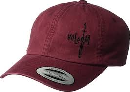 Volcom Women's Pipe Dream <b>Curved Brim Dad</b> Hat Baseball Cap ...