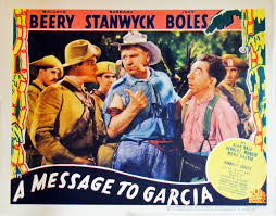 movie poster artistic soul studio message to garcia a
