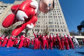 Image result for macy's thanksgiving day parade balloon handler