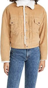 <b>Levi's</b> Women's <b>New Heritage</b> Cord Trucker Jacket at Amazon ...