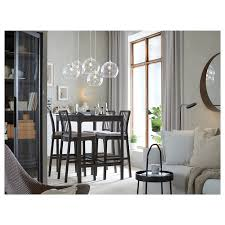 IKEA - EKEDALEN / Bar table and <b>4 bar stools</b> | Glass cabinet doors ...
