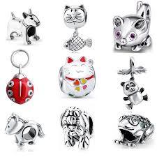 enamel <b>charm</b> owl pendant <b>charms</b> 925 sterling silver original <b>fit</b> ...