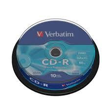<b>Диск CD</b>-<b>R Verbatim</b> Extra Protection <b>700 Mb</b> 52x (10 штук в ...