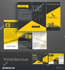 professional business three fold flyer template stock vector professional business three fold flyer template corporate brochure or cover design can be use for