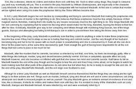 macbeth supernatural theme essaymacbeth themes essay    yahoo answers