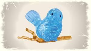 Крутой <b>3D пазл</b>! СОБИРАЕМ Красивую птичку 3D <b>puzzle</b> bird toy ...
