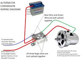 69 vw generator wiring diagram empi vw alternator generator conversion kits jbugs vw generator