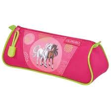 «<b>Пенал</b>-<b>косметичка Herlitz TRIANGULAR</b> Spring Horses ...