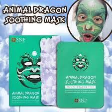 [<b>SNP</b>] <b>ANIMAL DRAGON</b> SOOTHING MASK (1 BOX)