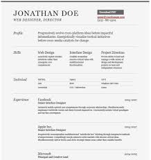 gray modern template visual resume best word resume template