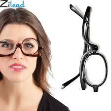 <b>Zilead Magnifying Glasses</b> Rotating Makeup Reading Glasses ...
