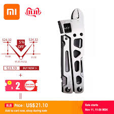In stock xiaomi <b>huohou multi function</b> pocket folding knifes pliers ...