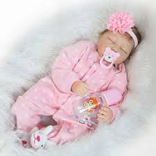 22 inch Newborn Dolls Lifelike Bebe 55cm <b>Reborn Dolls White</b> ...