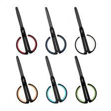 Fizz FZ212003 <b>Anti</b>-<b>Stick Scissors With</b> Scale Stationary Scissor ...
