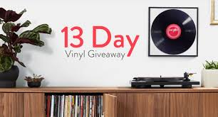 Amazon is giving away <b>free vinyl</b> every day for the next two weeks ...