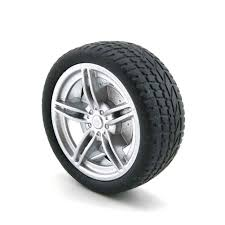 40mm <b>Rubber Wheel</b> for <b>Tracking</b> Model Car <b>Robot</b> Accessories DIY ...