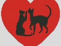 9 лучших изображений доски «Схемы вышивки крестом любовь ...