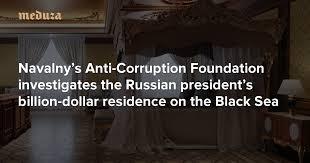 Putin's palace Navalny's Anti-Corruption Foundation investigates the ...